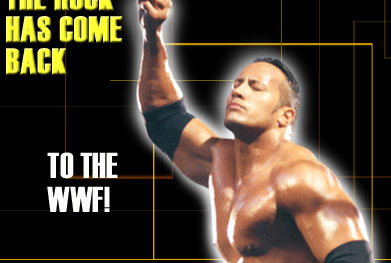 Finally the Rock returns to the WWF