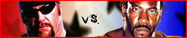 The Undertaker V Booker T