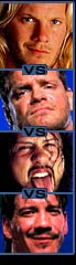 Y2J Vs Benoit Vs X-Pac Vs Guerrero